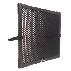 Exalux Nid d'Abeille Aluminium 45° pour LEDZEP 1X1 - Accessoire Lumière