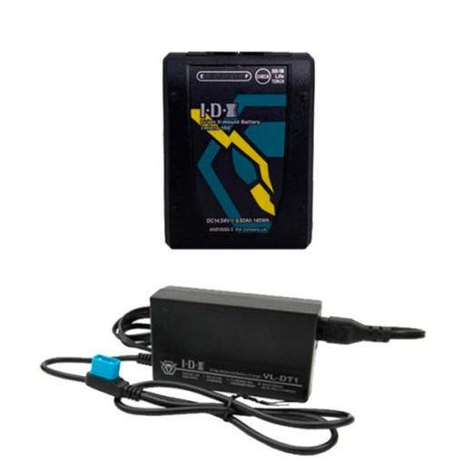 IDX Imicro-150 avec Chargeur VL-DT1 - Chargeur avec Batterie