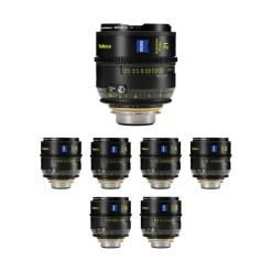 Zeiss SP Radiance (impérial) - kit Objectifs 21/25/ 29/35/50/85/100 mm