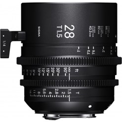 Sigma 28mm T1.5 FF F/AP2 PL /i - Objectif Cinéma