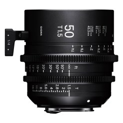 Sigma 50mm T1.5 FF F/AP2 PL /i - Objectif Cinéma