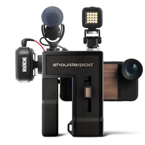 Shoulderpod G2 - poignée stabilisatrice pour smartphone