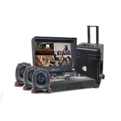 Datavideo BDL-1601 - bundle Régie (1 station de travail + 3 caméras + 1 valise)