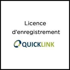 LICENCE D'ENREGISTREMENT QUICKLINK