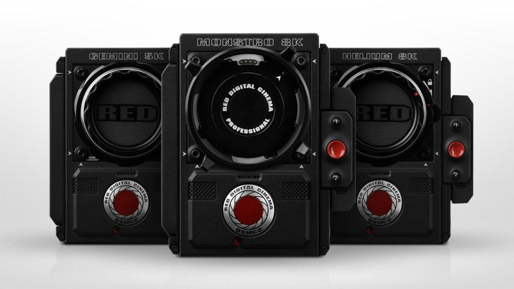 Famille de caméra RED DIGITAL CAMERAS