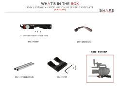 Contenu de la boite SHAPE FS72BP