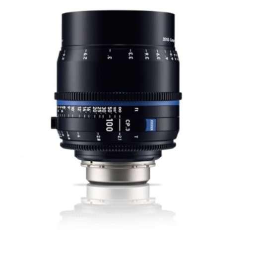ZEISS CP.3 100mm T2.1 (Sony E, métrique) - Objectif Prime Cinéma