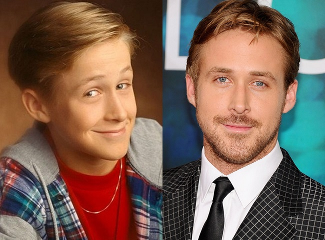 Ryan Gosling childhood photo