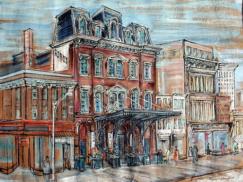 Fords Theatre Washington DC By Lily Spandorf Item