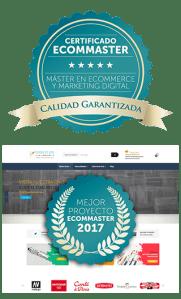Logotipos ecommaster en vertical