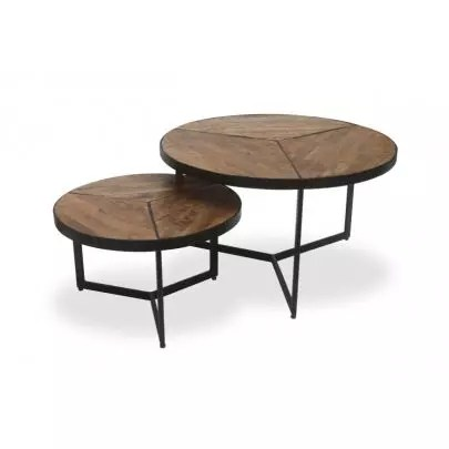 table basse ronde ou ovale table
