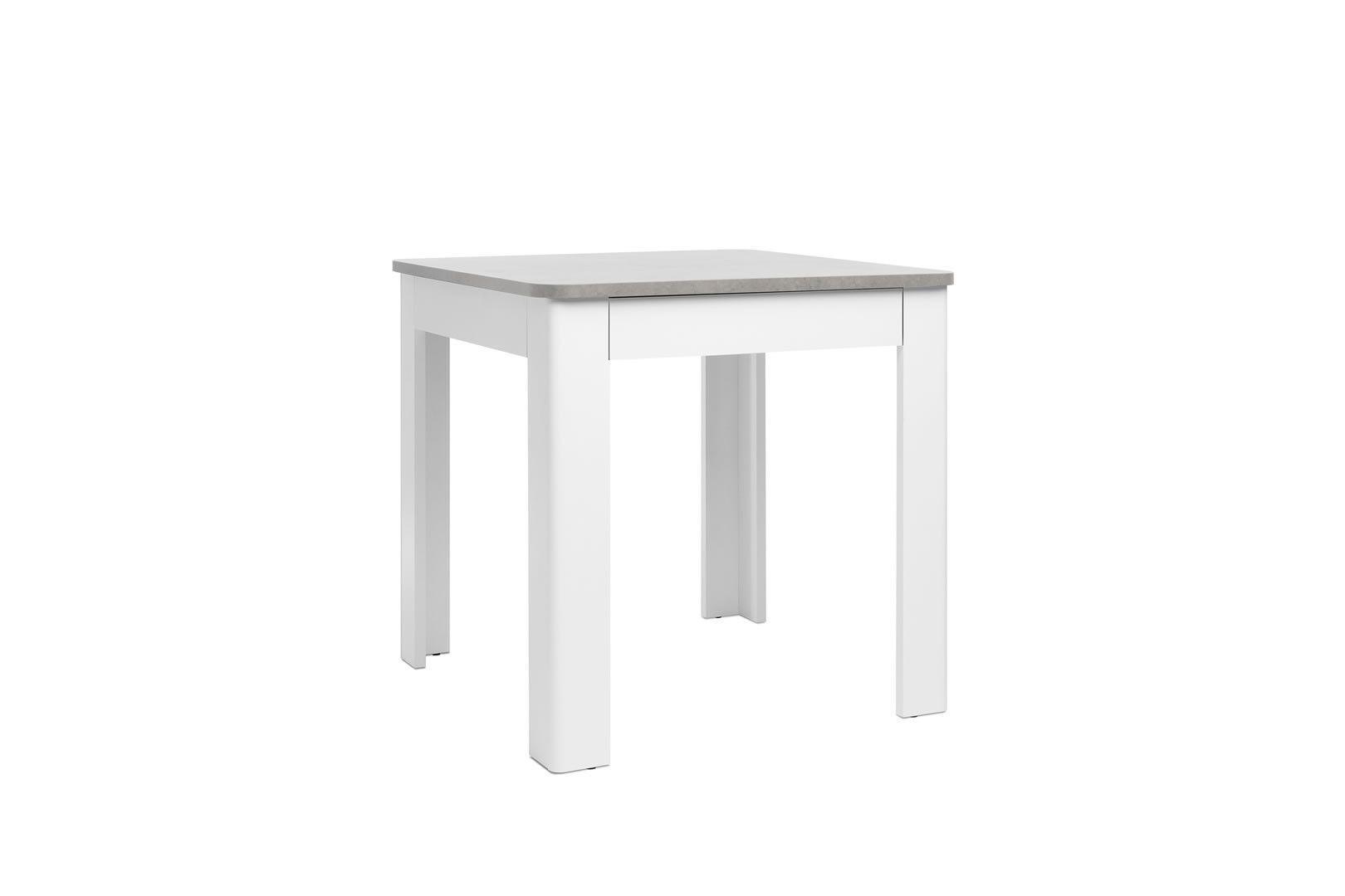 Tables De Cuisine Table Carr 80 X 80 Cm Avec Tiroir