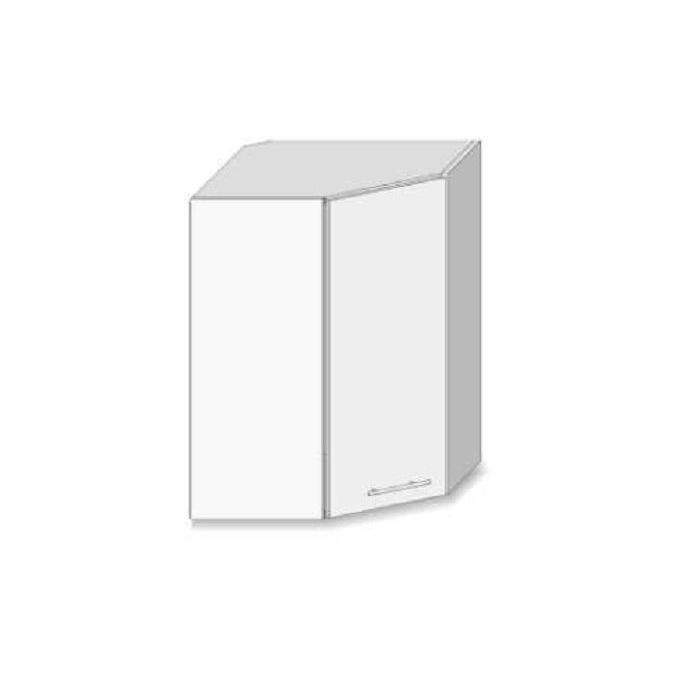 meuble d angle haut de cuisine 1 porte blanc dole
