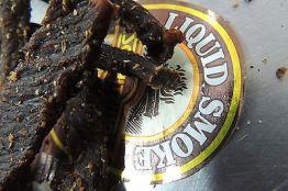 """Biltong, """"Hickory Rauch"""" als Stiks, eigene Herstellung! 100 g Packung 40,- €/Kg"""