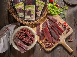 Walz Beef Jerky 15 mal 100 g 1,5 kg geschnitten Geschmaksrichtung frei wählbar