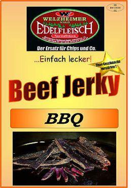 1 Kg Biltong Trockenfleisch Beef Jerky BBQ Würzung