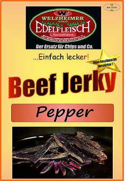 1 Kg Biltong Trockenfleisch Beef Jerky Pfeffer Würzung