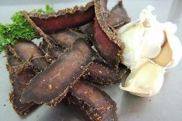 250g Knoblauch German-Beef-Jerky(Biltong,Steak Bites, Pemmikan) 46,96 €/Kg
