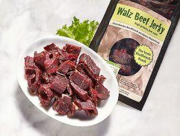 Beef Jerky/Biltong  5 mal 100gr Rind Teriyaki  geschnitten 0,5 kg