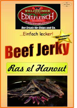500 Gramm Biltong Beef Jerky Eigene Herstellung versch. Sorten am Stück/Stix