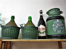 Gartendekoration Ballonflaschen Kannen