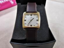 Armbanduhr Omega golden braun