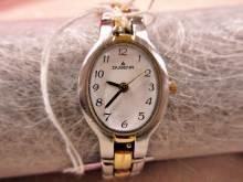 Armbanduhr Dugena silbern golden