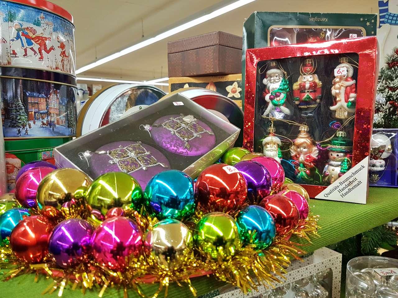 Weihnachtsmarkt 2020 Dekoration Baumschmuck