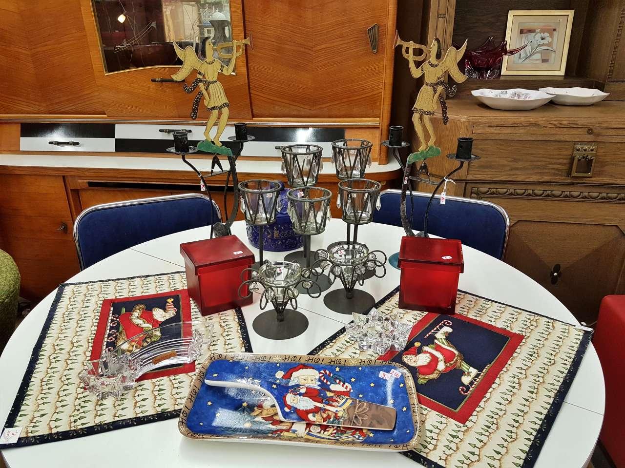 Weihnachtsmarkt 2020 Tischdekoration