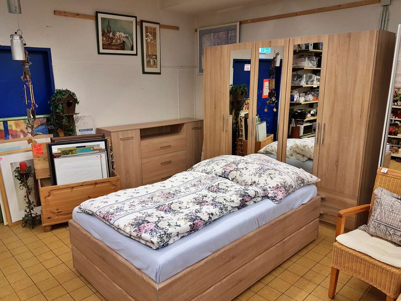 Schlafzimmer Holz natur modern