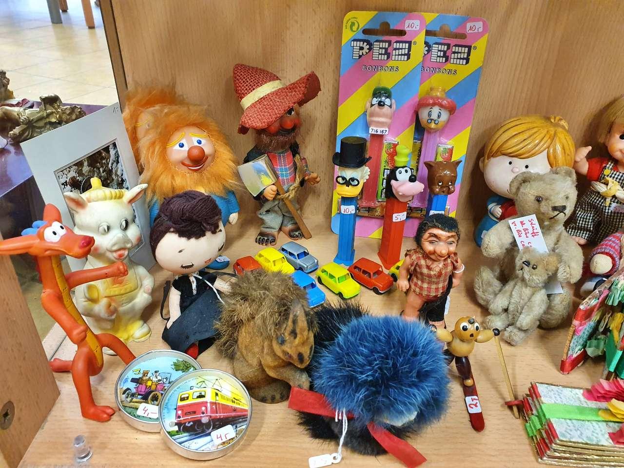 Sammlerstücke Spielzeug retro