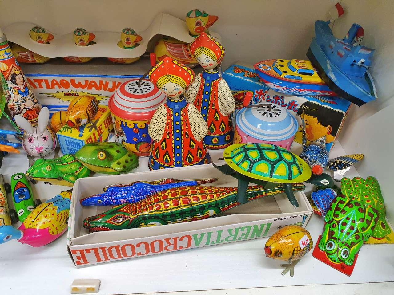 Sammlerstücke Blechspielzeug