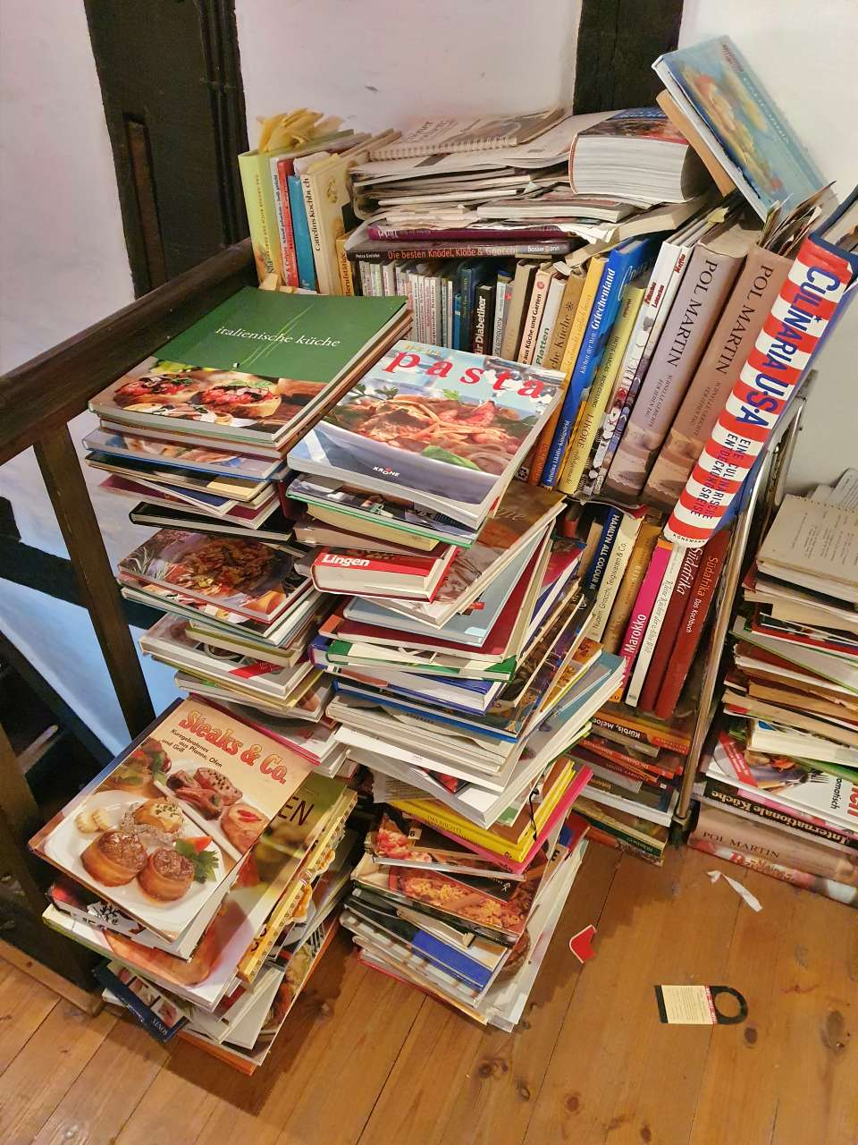 Grosse Sammlung / Konvolut an Kochbüchern 06