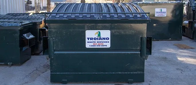 commercial dumpsters troiano waste