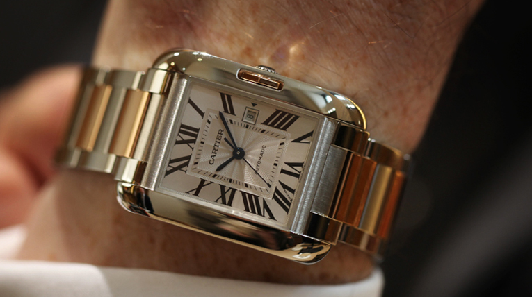 Cartier Launches The Tank Anglaise in Steel / Pink Gold!