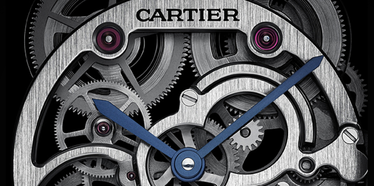 Tank Louis Cartier Sapphire Skeleton Watch: Transparency At Its Best