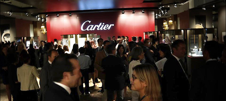 Cartier at 'Watches & Wonders'  expo in Hong Kong. Sept.25th. – Sept.28th