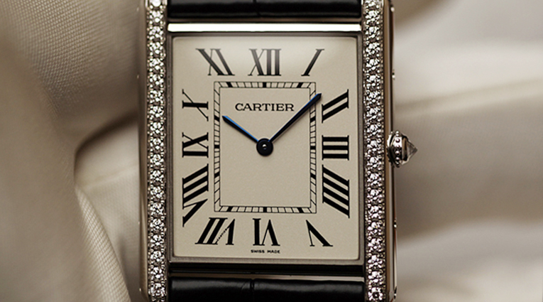 Cartier's LC Tank Goes Nightlife