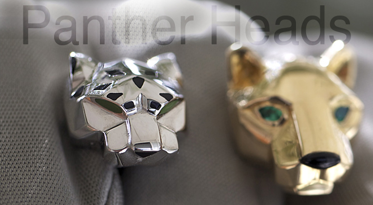 Cartier and the Panther heads for Men