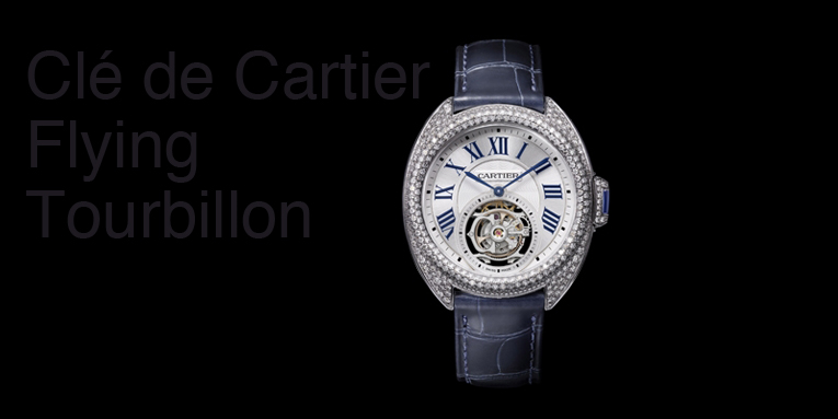Cartier Presents the Clé de Cartier, Flying Tourbillon, Full Pavé