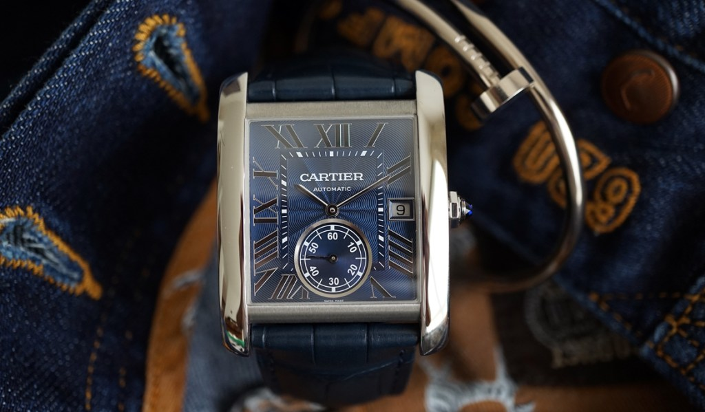 Out Of The Blue – Cartier's Presents a New Tank MC!
