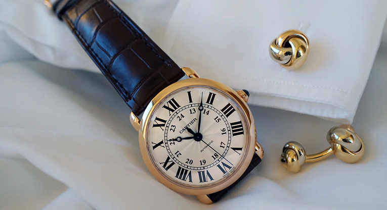 The 'Ronde Louis Cartier'; Luxury Hasn't Lost Its Lustre