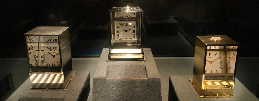 'Crystallization of Time', Cartier's newest exposition; or a Mr.​ Sugimoto show?