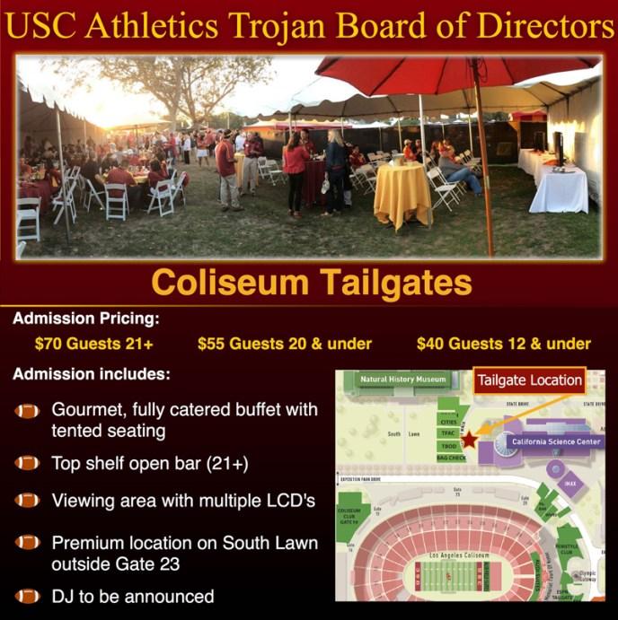 USC BOD Coliseum Tailgate2