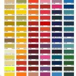 Color Charts Trojan Powder Coating