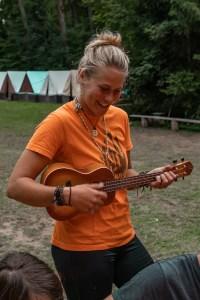 Anejda a ukulele