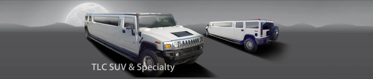 TLC SUV Limos for Sale