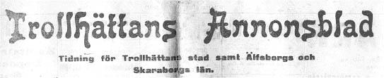 Annonsblad