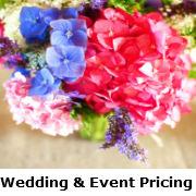 Wedding Event Pricing