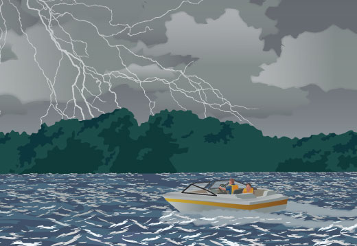 Weather Conditions While Boating
